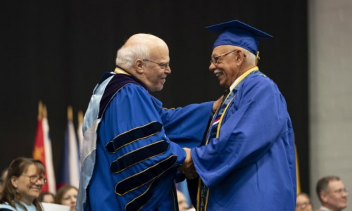 Venice Man Graduates 56 Years After Starting Journey in Higher Education