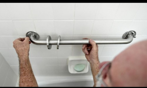 Grab Bars Are Essential When Remaining in the Home