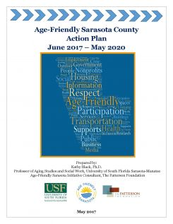 Small image of cover page of Age-Friendly Sarasota Action Plan